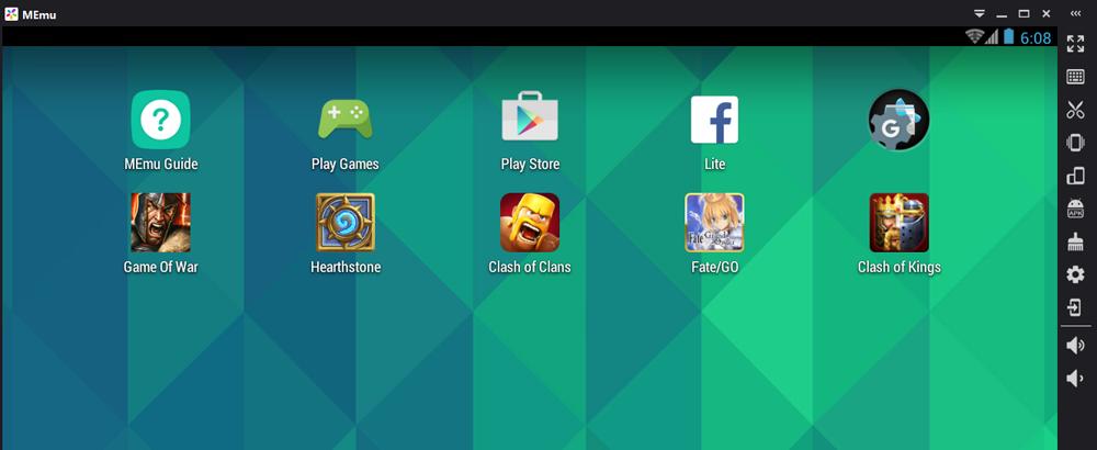 دانلود MEmu 3.6.8.1   اجرای بازی و برنامه اندروید روی کامپیوتر