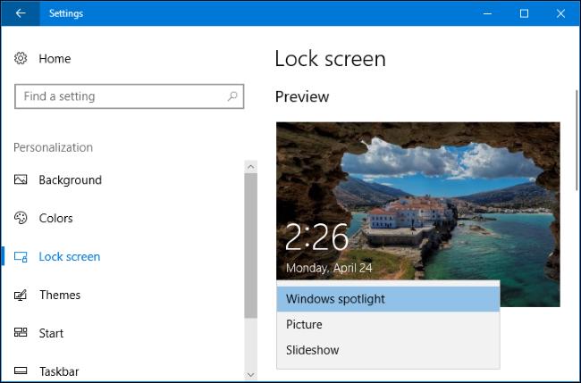 آموزش تغییر پسزمینه ورود به سیستم در ویندوز 10 + تصاویر