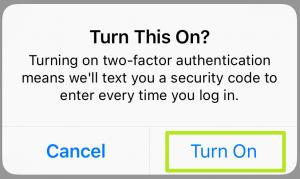 آموزش فعالسازی تایید دومرحلهای اینستاگرام + تصاویر