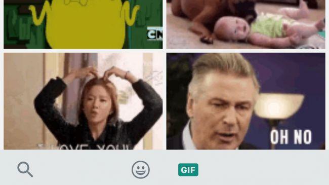 آموزش فرستادن گیف در واتساپ اندروید و iOS + تصاویر