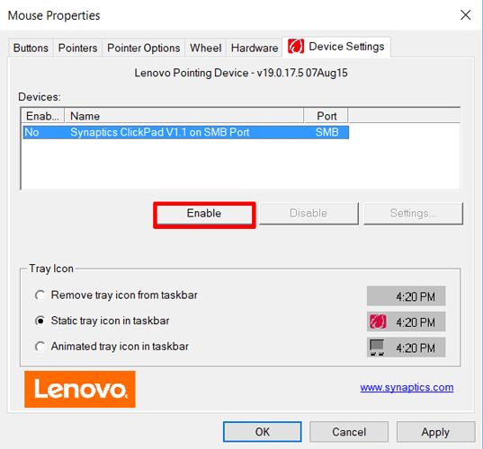 4 راه برای حل مشکل کار نکردن تاچ پد لپ تاپ + تصاویر