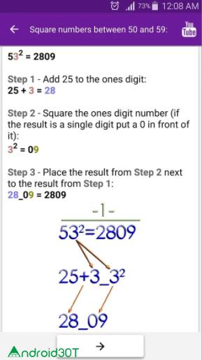 ترفندهای ریاضی، اپلیکیشنی جالب و کاربردی