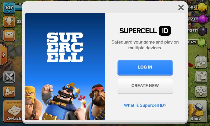 آموزش ساخت Supercell ID کلش آو کلنز + تصاویر