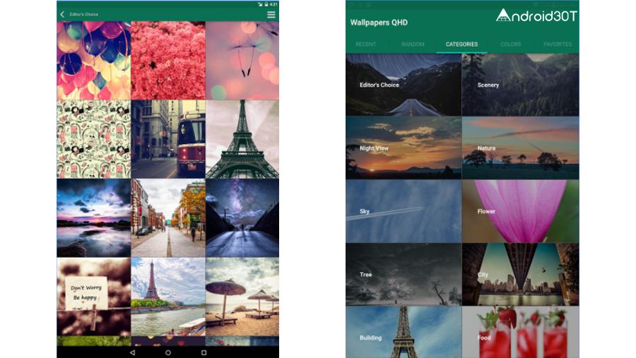 5 اپلیکیشن تاپ برای تصویر پس زمینه گوشی