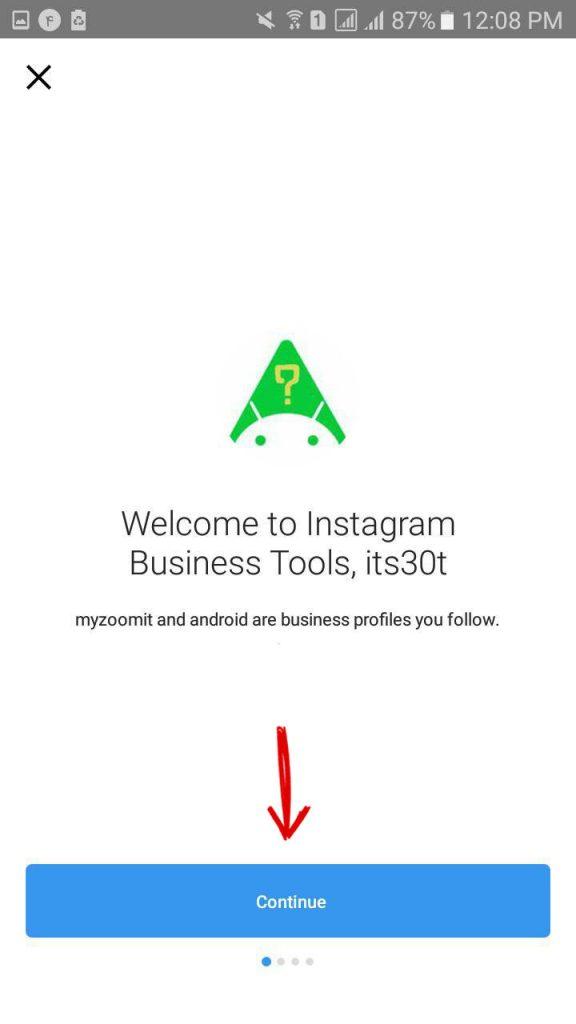 آموزش ساخت اکانت بیزینس در اینستاگرام (صفحه تجاری) + تصاویر