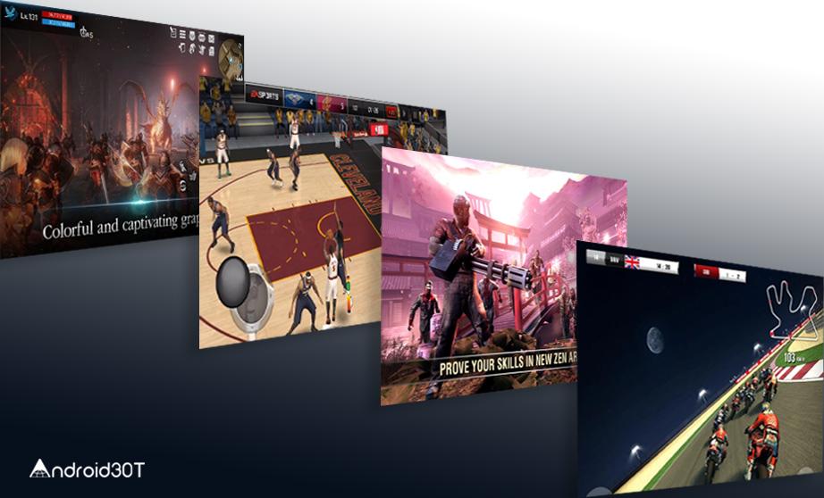 بهترین بازیهای اندروید از نظر گرافیکی