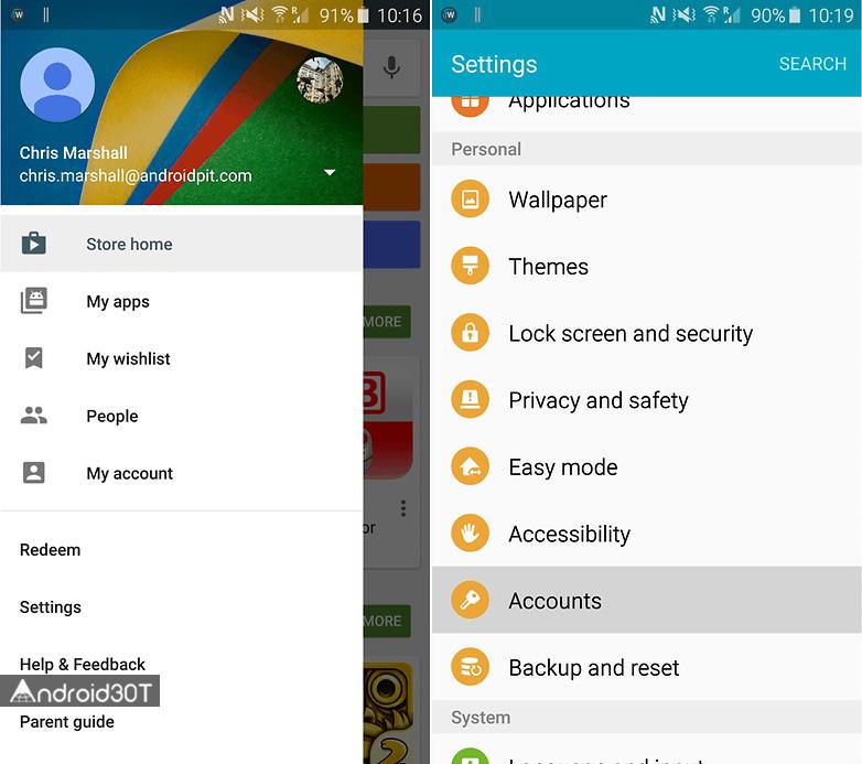 چگونه خطای Google Play authentication is required را رفع کنیم؟